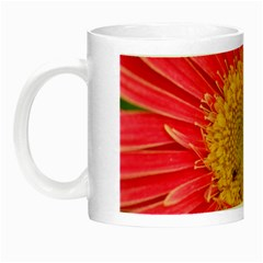 A Red Flower Glow In The Dark Mug by natureinmalaysia