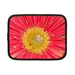 A Red Flower Netbook Case (small) by natureinmalaysia