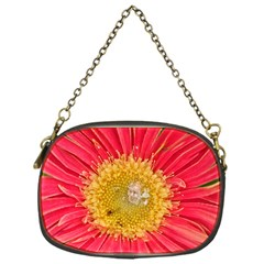 A Red Flower Chain Purse (one Side)