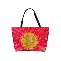 A Red Flower Large Shoulder Bag by natureinmalaysia