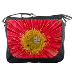 A Red Flower Messenger Bag by natureinmalaysia