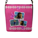 My Princess Flap Closure Messener Bag (large) - Flap Closure Messenger Bag (L)