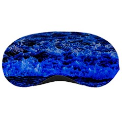 Waves On Dthe Beach Sleeping Mask by designsbyvee