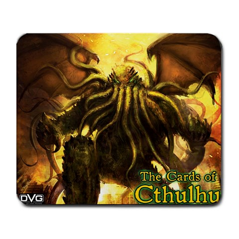 Dvg   The Cards Of Cthulhu   Cthulhu Cult By Dan Verssen   Large Mousepad   Rl190na79omi   Www Artscow Com Front