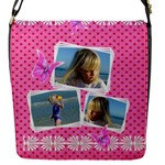 My Princess Flap Closure Messenger Bag (small) - Flap Closure Messenger Bag (S)