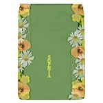 Yellow Poppy Removable Flap Cover (Small) - Removable Flap Cover (S)