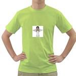 Angel Praying Green T-Shirt