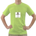 Angel Praying Green T-Shirt