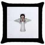 Angel Praying Throw Pillow Case