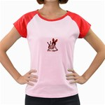 Play Bunny Women s Cap Sleeve T-Shirt