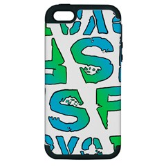 Isf & Ryot Design Apple Iphone 5 Hardshell Case (pc+silicone) by MLWartstore