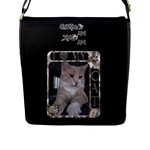 My Cat Flap Closure Large Messenger Bag - Flap Closure Messenger Bag (L)