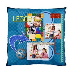 Kids Lego By Kids   Standard Cushion Case (two Sides)   48pmlezjftvl   Www Artscow Com Back