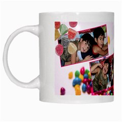 Candy Hearts & Gumdrops By Ivelyn   White Mug   9dzdqtq14va8   Www Artscow Com Left