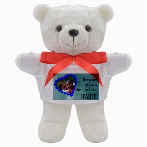 Close To Your Heart Bear By Angeye   Teddy Bear   J0ytav0hbihz   Www Artscow Com Front