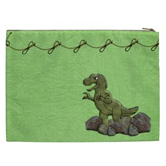 Prehistoric Xxl Bag By Lisa Minor   Cosmetic Bag (xxl)   Mx3d9hsqjyfp   Www Artscow Com Back