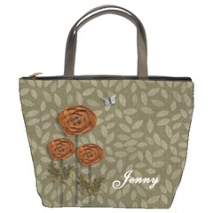Bucket Bag   Flowers By Jennyl   Bucket Bag   61sub7r3h3y4   Www Artscow Com Front