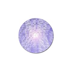 Purple Cubic Typography Golf Ball Marker 10 Pack by TheZiNES