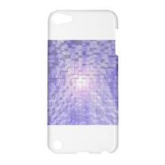 Purple Cubic Typography Apple Ipod Touch 5 Hardshell Case by TheZiNES