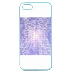 Purple Cubic Typography Apple Seamless Iphone 5 Case (color) by TheZiNES