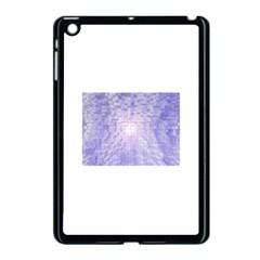 Purple Cubic Typography Apple Ipad Mini Case (black) by TheZiNES