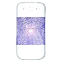 Purple Cubic Typography Samsung Galaxy S3 S Iii Classic Hardshell Back Case by TheZiNES