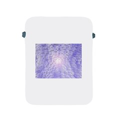 Purple Cubic Typography Apple Ipad 2/3/4 Protective Soft Case by TheZiNES