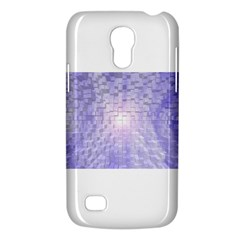Purple Cubic Typography Samsung Galaxy S4 Mini Hardshell Case  by TheZiNES