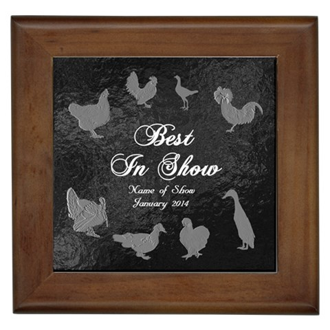 Bis Poultry Tile   Generic Show By Lmw   Framed Tile   Tya0q52w0ake   Www Artscow Com Front