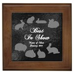 BIS Rabbit Tile - Generic Show - Framed Tile