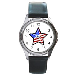American Star Round Metal Watch from CowCow.com Front