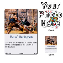 Robin Hood Cards (sheriff Deck) By Mark Johnson   Multi Purpose Cards (rectangle)   Fwupf36hvxqz   Www Artscow Com Front 8
