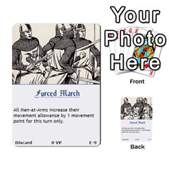 Robin Hood Cards (sheriff Deck) By Mark Johnson   Multi Purpose Cards (rectangle)   Fwupf36hvxqz   Www Artscow Com Front 9