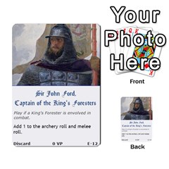 Robin Hood Cards (sheriff Deck) By Mark Johnson   Multi Purpose Cards (rectangle)   Fwupf36hvxqz   Www Artscow Com Front 12