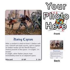 Robin Hood Cards (sheriff Deck) By Mark Johnson   Multi Purpose Cards (rectangle)   Fwupf36hvxqz   Www Artscow Com Front 16