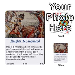 Robin Hood Cards (sheriff Deck) By Mark Johnson   Multi Purpose Cards (rectangle)   Fwupf36hvxqz   Www Artscow Com Front 23
