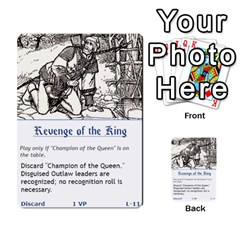 Robin Hood Cards (sheriff Deck) By Mark Johnson   Multi Purpose Cards (rectangle)   Fwupf36hvxqz   Www Artscow Com Front 28