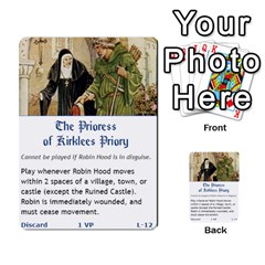 Robin Hood Cards (sheriff Deck) By Mark Johnson   Multi Purpose Cards (rectangle)   Fwupf36hvxqz   Www Artscow Com Front 29