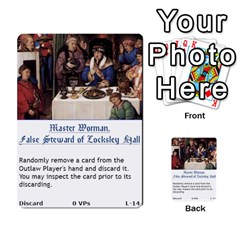 Robin Hood Cards (sheriff Deck) By Mark Johnson   Multi Purpose Cards (rectangle)   Fwupf36hvxqz   Www Artscow Com Front 31