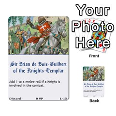 Robin Hood Cards (sheriff Deck) By Mark Johnson   Multi Purpose Cards (rectangle)   Fwupf36hvxqz   Www Artscow Com Front 32