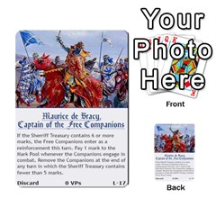 Robin Hood Cards (sheriff Deck) By Mark Johnson   Multi Purpose Cards (rectangle)   Fwupf36hvxqz   Www Artscow Com Front 34