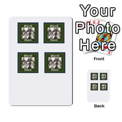 Robin Hood Cards (sheriff Deck) By Mark Johnson   Multi Purpose Cards (rectangle)   Fwupf36hvxqz   Www Artscow Com Front 40