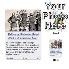 Robin Hood Cards (sheriff Deck) By Mark Johnson   Multi Purpose Cards (rectangle)   Fwupf36hvxqz   Www Artscow Com Front 5