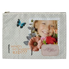 Kids By Kids   Cosmetic Bag (xxl)   Hbck1n4yechb   Www Artscow Com Front
