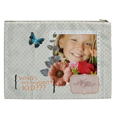 Kids By Kids   Cosmetic Bag (xxl)   Hbck1n4yechb   Www Artscow Com Back
