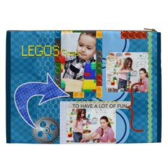Kids By Kids   Cosmetic Bag (xxl)   O9y4wg1y3o6e   Www Artscow Com Back