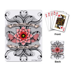 What Doesn t Kill You Playing Cards Single Design