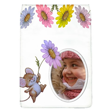 Little Flower Removable Flap Cover (large) By Deborah   Removable Flap Cover (l)   6qxybaeis6l6   Www Artscow Com Front