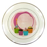 Happy Birthday (girl) plate - Porcelain Plate