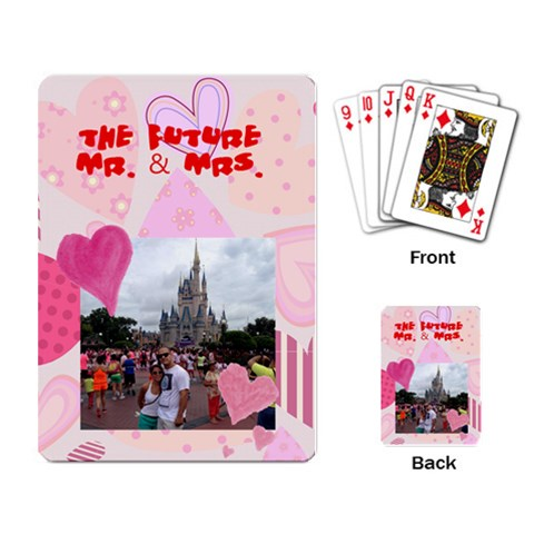 By Marisa   Playing Cards Single Design   Mzfe154azach   Www Artscow Com Back
